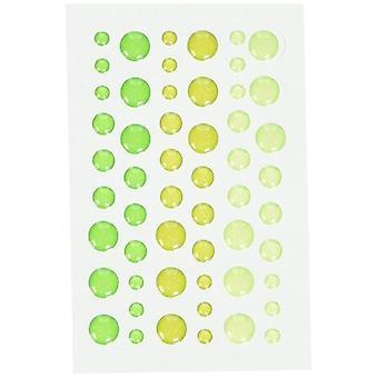 تصميم خربشة لمعان لمعان الرشاشات (54pcs) (4538)