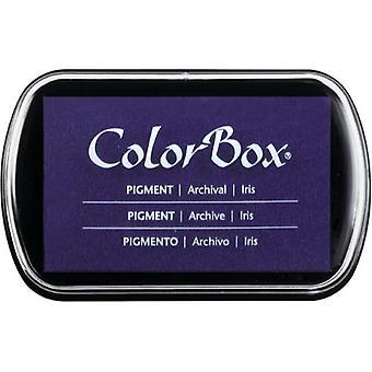 Clearsnap ColorBox Pigment Muste Täysikokoinen Iris
