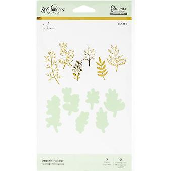 Spellbinders Organic Foliage Hot Foil Plates