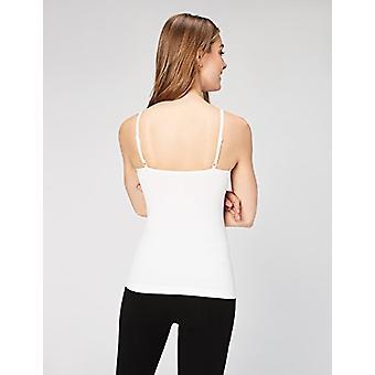 العلامة التجارية - طقوس اليومية المرأة & apos;ق كاميسولي سلس, 2-حزمة قميص, أسود / Wh ...