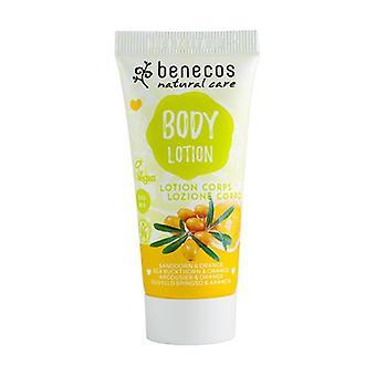 Sea Buckthorn and Orange Body Lotion 30 ml of cream (Orange)