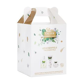 Chest Best sellers mini shower gel and shampoo 75ml, pink clay mask sensitive skin 40ml, shea butter 20g 3 units