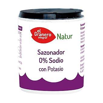 Condimento 0% Sodio con potassio 200 g di polvere