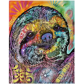Stamplistic Sloth Smile Cling Stamp