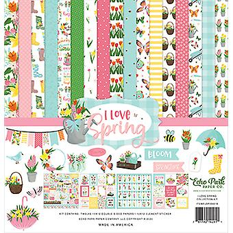Echo Park I Love Spring 12x12 Inch Collection Kit