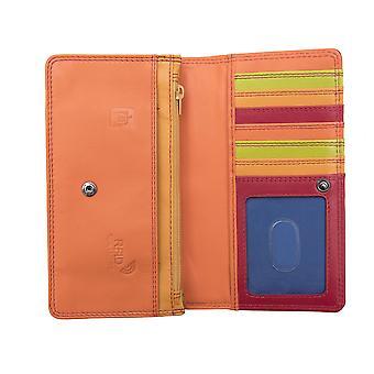 Premierhide Femmes Matinee Portefeuille de porte-monnaie RFID Blocage Porte-carte 6083