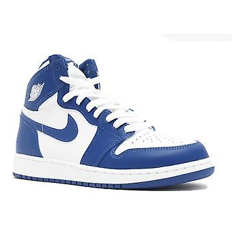 Air Jordan 1 Retro High Og Bg (Gs) 'Storm Blue' - 575441-127 - Shoes
