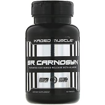 Kaged Muscle, SR Carnosyn, 120 Tablets