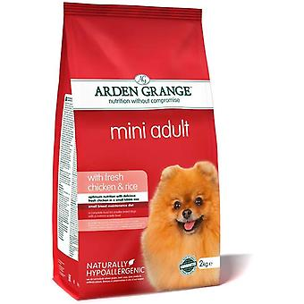 Arden Grange Adult MINI Dog - Chicken & Rice - 2kg