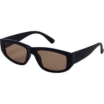 Gafas de sol Unisex tendencia mate negro/marrón (4105)