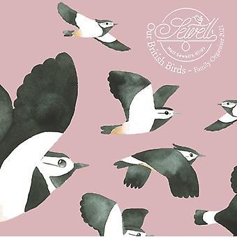 Matt Sewells Our British Birds Square Wall Planner Calendar 2021
