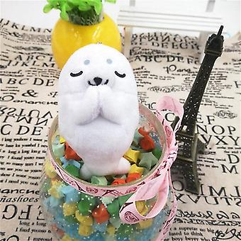 Cute Creative Animal Prayer Peluche Jouet- Keychain Penguin Dolphin Seal Frog, Chien