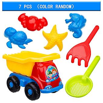 Sandbox Set Kit Juguetes de Verano para Beach Play Sand Water Play Cart