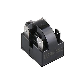 Frigider Compresor PTC Releu Starter 22 Ohm 4 Pini Negru