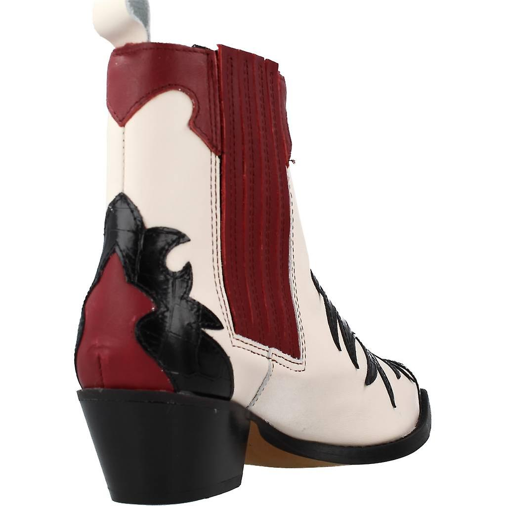 Alpe Booties 4059 72 Color Cherry