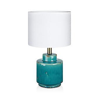1 Lampada da tavolo interno chiaro Blu, E27