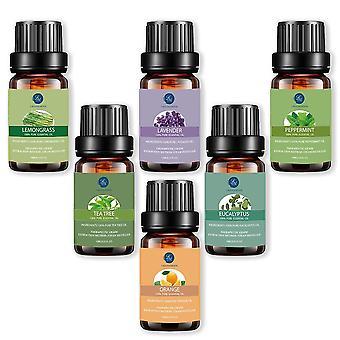 Rene essensielle oljer - Luftfukter, Aromaterapi - Eukalyptus, Peppermynte,