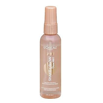 L&oreal Paris Makeup Lumi Shake & Glow Dew Mist, Natural Finish, 3 Fl. Oz.