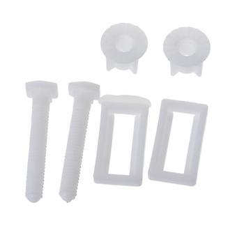 1-paar wc-bril scharnierbouten schroef, bevestiging montage kit voor wc-bril