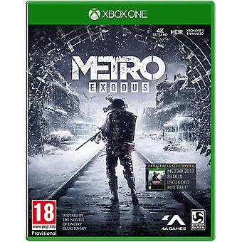 Metro Exodus Xbox One-spel