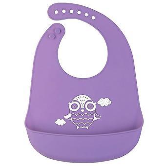 Serviette de salive douce et confortable de qualité de l'alimentation bib pour bébé