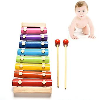 Children Early Educational Learning Puzzle Wooden- Xylophone Musical Toy Wisdom