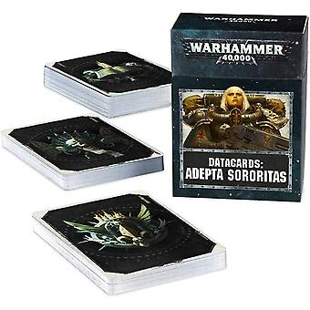 Workshop de Jogos - Warhammer 40.000: Datacards: Adepta Sororitas
