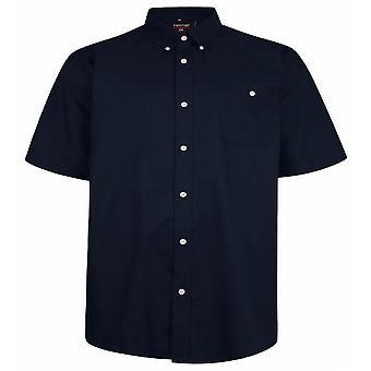 ESPIONAGE Espionage Plain Oxford Short Sleeve Shirt