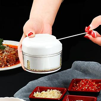 Mini Food/vegetable Grinder Chopper Mincer Food Processor (branco)