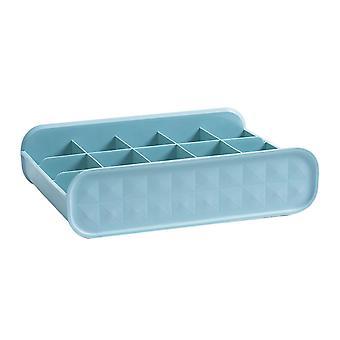 Sock Drawer Organizer Underwear Organizer Cabinet Organizer Storage Boxes Bleu