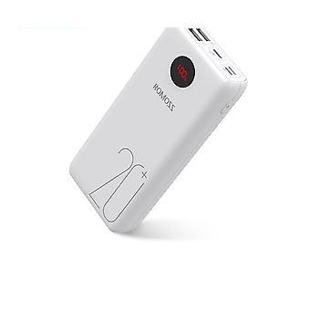 Přenosná nabíječka napájecí banky externí baterie rychlé nabíjení s LED displejem