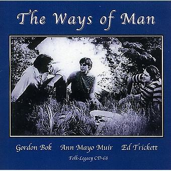 Gordon Bok & Ann Mayo Muir - Ways of Man [CD] USA import