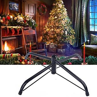 Christmas Tree Base Stand Foldable Iron Bracket Bottom Support Holder