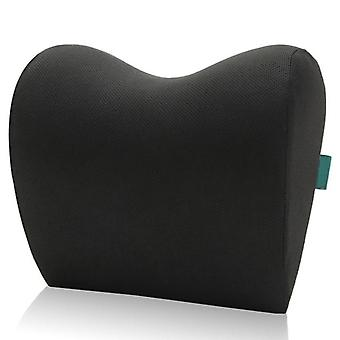 Car Headrest Neck Pillow For Seat Chair Foam Cotton Cushion Fabric Cover