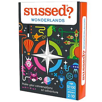 Sussed wonderlands card game - explore your imagination together (who do you imagine you are) 12+ wo