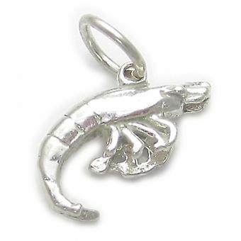 Garnalen Garnalen Sterling Silver Charm .925 X 1 Garnalen Garnalen Charms - 4966