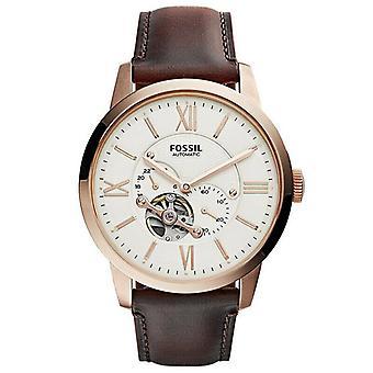 Fossil ME3105 Townsman Beige Dial Automatic Men's Watch