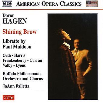 D. Hagen - Daron Hagen: Shining Brow [CD] USA import