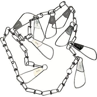 "Eagle Claw 46"" 9-Snap Chain Stringer"