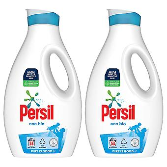 2x de detergente líquido no bio peligroso de 53W para piel sensible 1.54L, total 106W