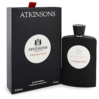 41 Burlington Arcade Eau De Parfum Spray (Unisex) By Atkinsons 3.3 oz Eau De Parfum Spray