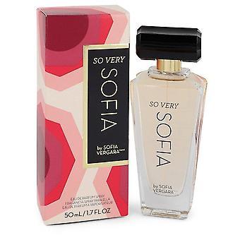 So Very Sofia Eau De Parfum Spray By Sofia Vergara 1.7 oz Eau De Parfum Spray