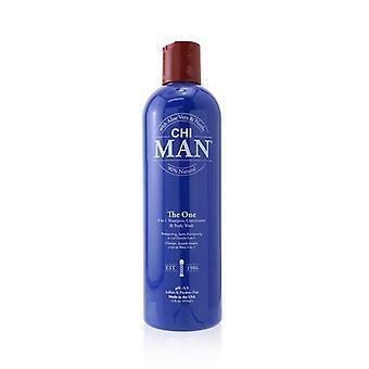 CHI Man The One 3-in-1 Shampoo  Conditioner & Body Wash 355ml/12oz