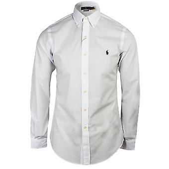Ralph lauren men's white oxford shirt
