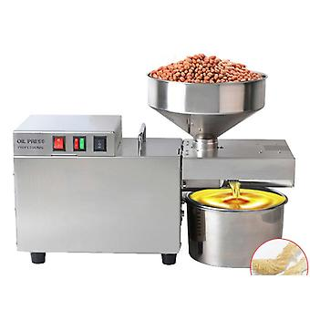 Stainless Steel Oil Press For Small Household, Extract Coconut And Peanut Oils