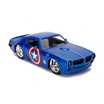 Pontiac Firebird (Captain America Edition 1972) Diecast Model Car