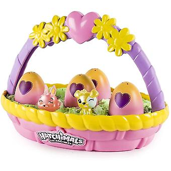 Hatchimals 6041273 Colleggtibles Flower Basket Assortment (Styles May Vary-One Supplied), Multi