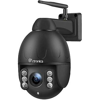 Wokex berwachungskamera Aussen, 4-Fach optischem Zoomobjektiv Outdoor Kamera, 360 Drehen PTZ Kamera