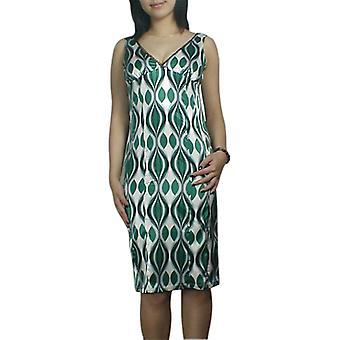 Chic Star V-neck Slim-Down Pencil Dress In Green