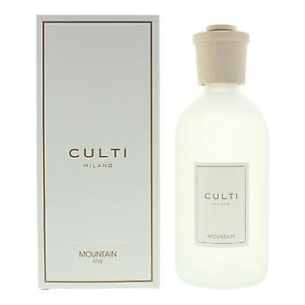 Culti Milano Stile Diffuser 500ml - Mountain - Sticks Not Included In The Box